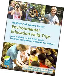Environmental Education Field Trips brochure