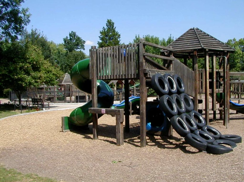 Holliday Park Playground Completed